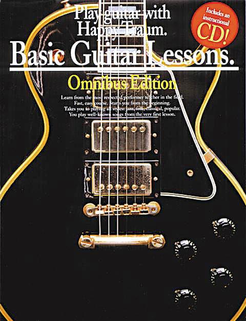 good Basic Guitar Lessons Happy Traum Omnibus Book 1 2 3 4 Learn ...